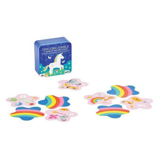 Petitcollage Kartová hra Jednorožce 2