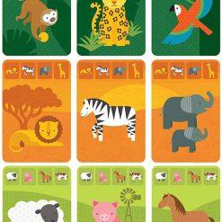 Petitcollage Kartová hra Zvieratká 2