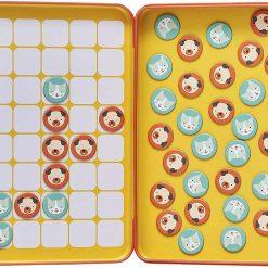 Petitcollage  Magnetická hra Mačky a psi 2