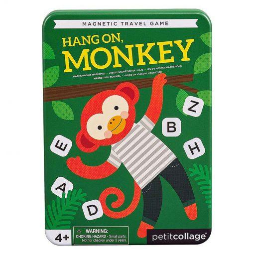 Petitcollage Magnetická hra Počkaj opička 1