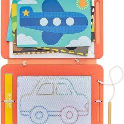 Petitcollage Magnetická kresliaca tabuľa Na cestách 2