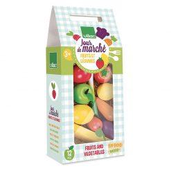 Vilac Drevený set Ovocie a zelenina 1