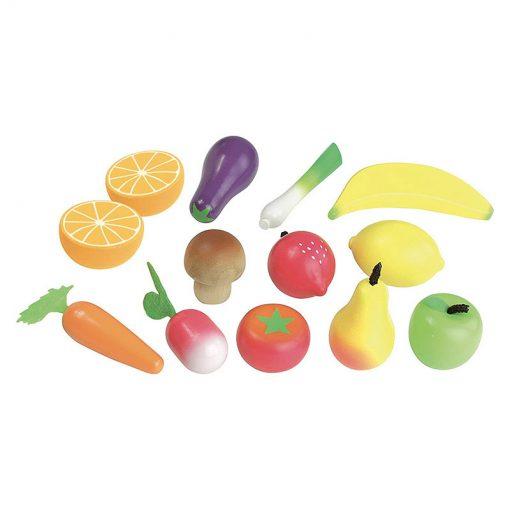 Vilac Drevený set Ovocie a zelenina 2