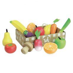 Vilac Drevený set Ovocie a zelenina 3