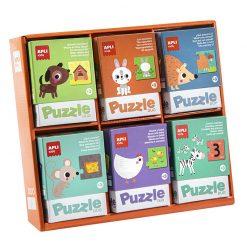 Apli Duo puzzle Zvieratká 1