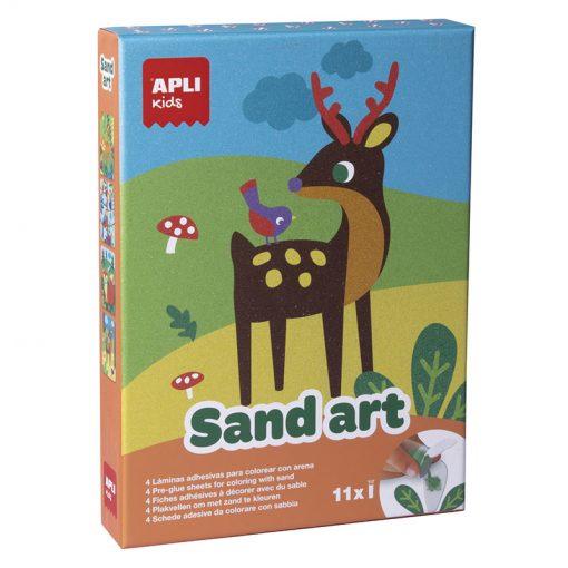 Apli Kreatívna sada Farebný piesok 1