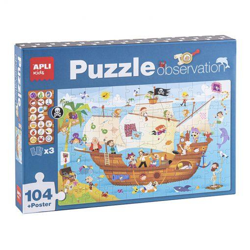 Apli Puzzle Objavujte Pirátsku loď 1