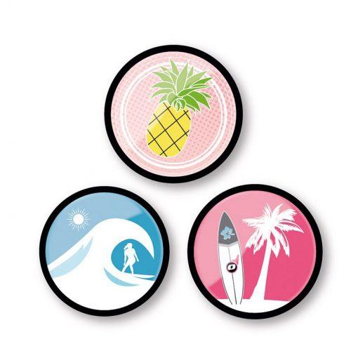 Nikidom Set odznakov Aloha 1