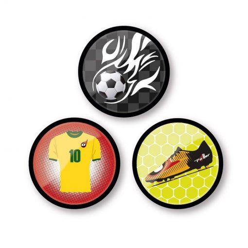 Nikidom Set odznakov Goal 1