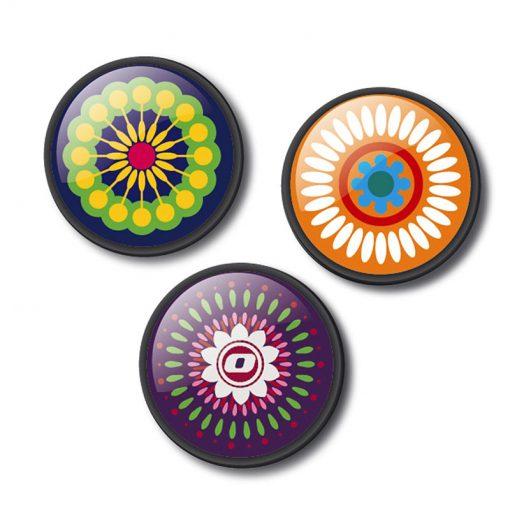 Nikidom Set odznakov Mandala 1