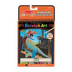 Melissa & Doug Škrabacia vymaľovanka Dinosaury 1