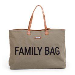 Childhome Cestovná taška Family bag Canvas Khaki 1