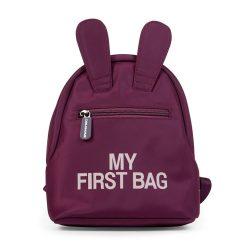 Childhome Detský batoh My first bag Aubergine 1
