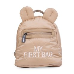 Childhome Detský batoh My first bag Puffered Beige 1