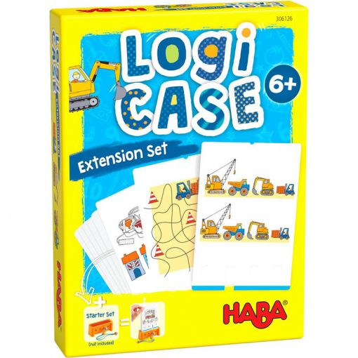 Haba LogiCASE Logická hra - rozšírenie Stavenisko 1