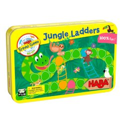 Haba Magnetická hra v plechovke Rebríky v džungli 1