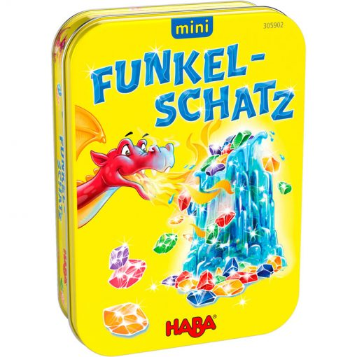 Haba Mini hra v kovovej krabici Dračí dych 1