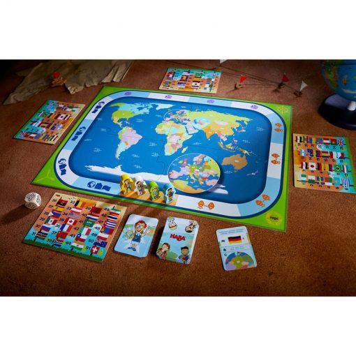 Haba Spoločenská hra Krajiny sveta 2