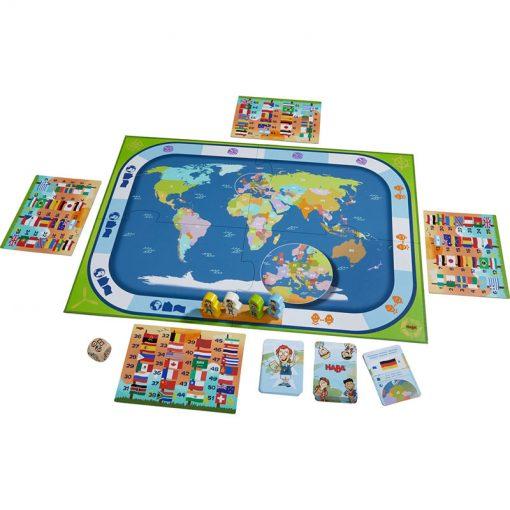 Haba Spoločenská hra Krajiny sveta 3