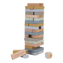 Little Dutch Drevená skladacia veža 1